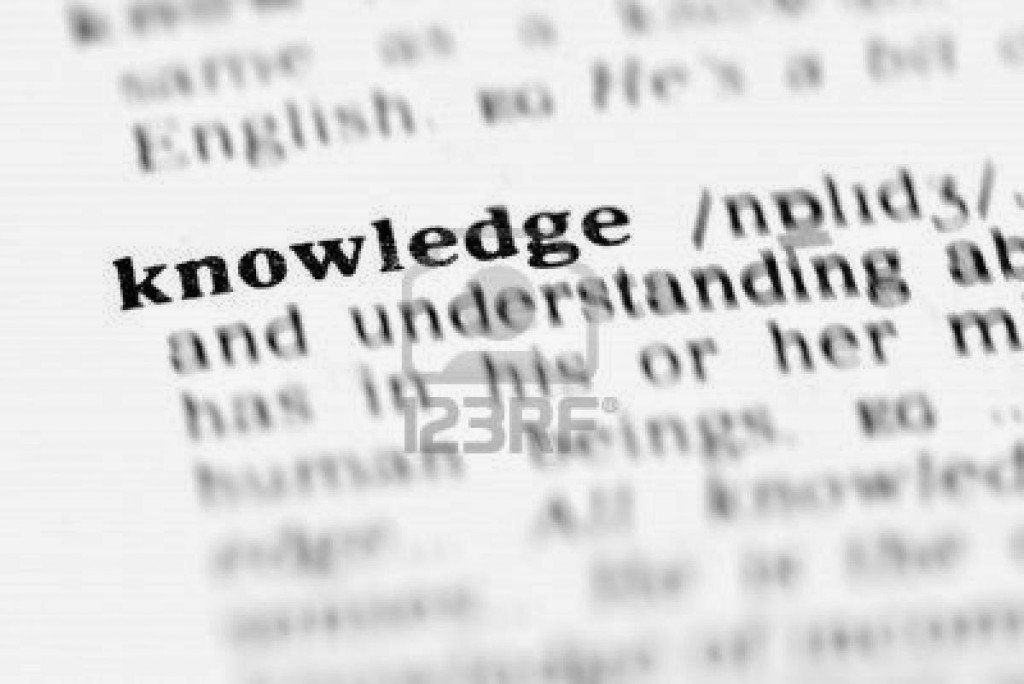 Knowledge and ability---Know and Know how