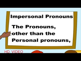 Contoh Agreement berupa impersonal pronouns